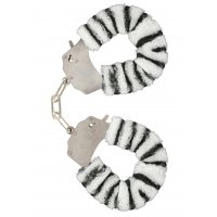 Наручники Toy Joy Furry Fun Zebra (Нидерланды)