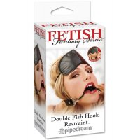 Расширитель для рта Double Fish Hook Restraint от Pipedream Products, Fetish Fantasy