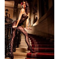Комбинезон Flower Lace Bodystocking от BACI Lingerie