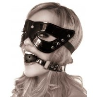 Набор маска и кляп Masquerade Mask Ball Gag от Pipedream Products