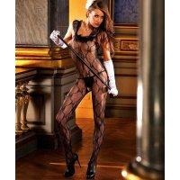 Комбинезон Ruffle Lace Bodystocking от BACI Lingerie