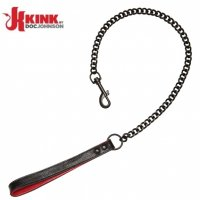 Поводок кожаный Kink Leather Handler's Leash от Doc Johnson