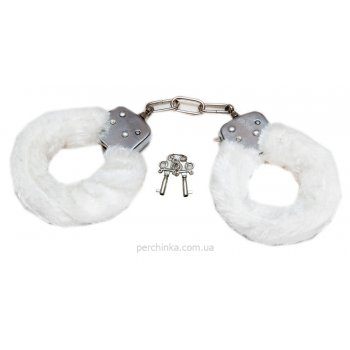 Наручники Toy Joy Furry Fun White (Нидерланды)