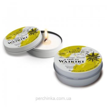 Массажная свеча Petits Joujoux Candle Waikiki Refill 43 мл.