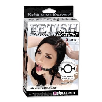 Кляп Fetish Fantasy Extreme Silicone O-Ring Gag от Pipedream Products