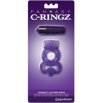 Эрекционное виброкольцо Fantasy C-Ringz Infinity Super Ring от Pipedream Products