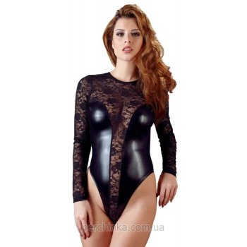Боди Cottelli Collection Lace Wetlook Body от Orion
