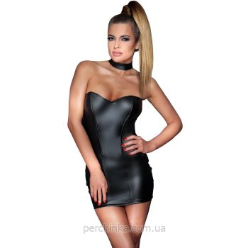 Мини платье Noir Wetlook Mini Dress от Orion