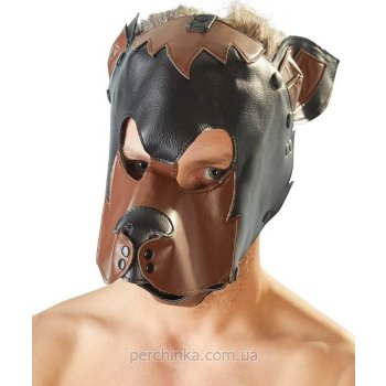 Маска собаки Fetish Collection Brown/Black Dog Mask от Orion
